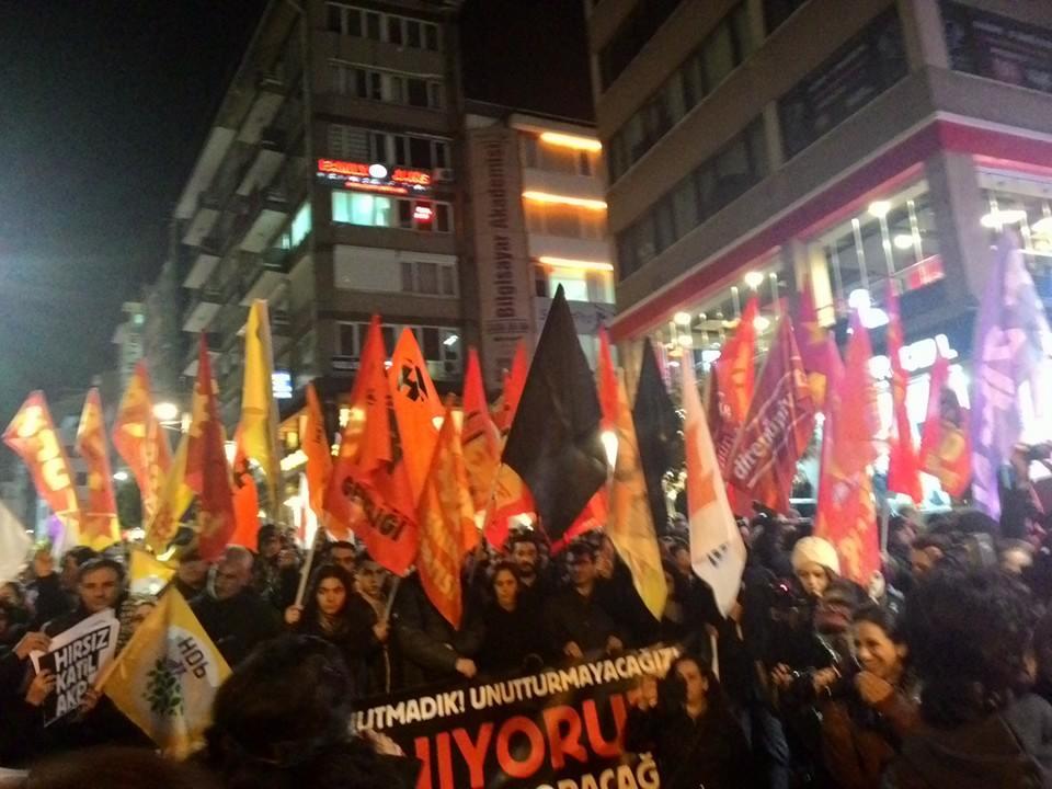 ankara katliam protesto