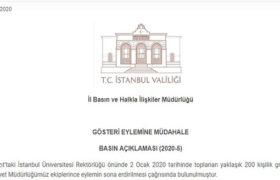 istanbul valiligi aciklama